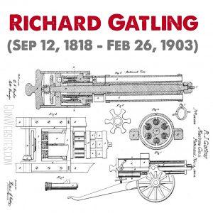 Gatling gun was named after him