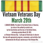 honor and respect to our Vietnam Veterans