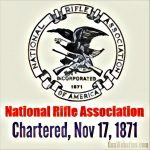National Rifle Association Chartered (1871)