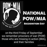 POW / MIA Recognition Day